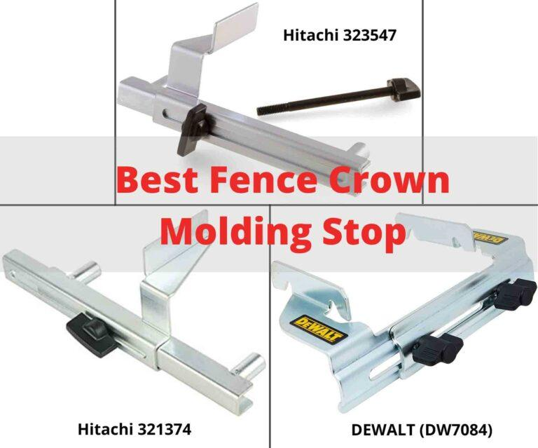 BEST FENCE CROWN MOLDING STOP